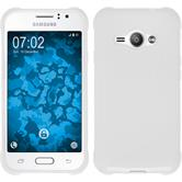 Silicone Case for Samsung Galaxy J1 Ace S-Style white