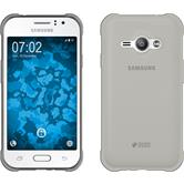 Silicone Case for Samsung Galaxy J1 Ace Slim Fit gray