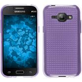 Silicone Case for Samsung Galaxy J1 (J100) Iced purple