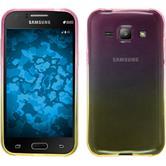 Silicone Case for Samsung Galaxy J1 Ombrè Design:01