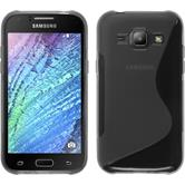 Silicone Case for Samsung Galaxy J1 S-Style gray