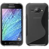 Silicone Case for Samsung Galaxy J1 S-Style transparent