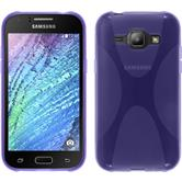 Silicone Case for Samsung Galaxy J1 X-Style purple