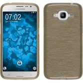 Silicone Case for Samsung Galaxy J2 (2016) brushed gold