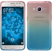 Silicone Case for Samsung Galaxy J2 (2016) Ombrè Design:06