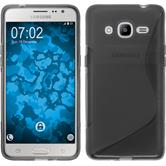 Silicone Case for Samsung Galaxy J2 (2016) S-Style gray