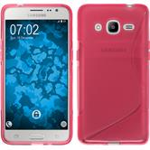 Silicone Case for Samsung Galaxy J2 (2016) S-Style hot pink