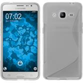 Silicone Case for Samsung Galaxy J2 (2016) S-Style transparent