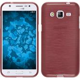 Silicone Case for Samsung Galaxy J2 brushed pink