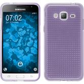 Silicone Case for Samsung Galaxy J3 (2016) Iced purple