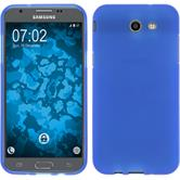 Silicone Case Galaxy J3 Emerge matt blue Case