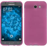 Silicone Case Galaxy J3 Emerge matt hot pink Case