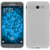 Silicone Case Galaxy J3 Emerge matt white Case