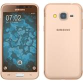 Silicone Case for Samsung Galaxy J3 360° Fullbody gold