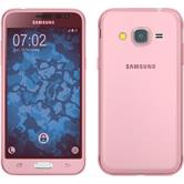Silicone Case for Samsung Galaxy J3 360° Fullbody pink