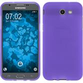 Silicone Case Galaxy J3 Emerge matt purple Case