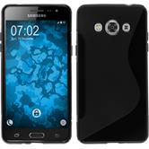 Silicone Case for Samsung Galaxy J3 Pro S-Style black