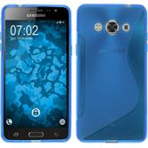 Silicone Case for Samsung Galaxy J3 Pro S-Style blue