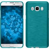 Silicone Case for Samsung Galaxy J5 (2016) brushed blue
