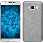 Silicone Case for Samsung Galaxy J5 (2016) brushed white
