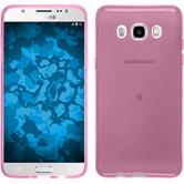 Silicone Case for Samsung Galaxy J5 (2016) J510 transparent pink