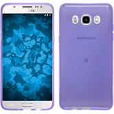 Silicone Case for Samsung Galaxy J5 (2016) J510 transparent purple
