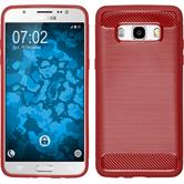 Silicone Case Galaxy J5 (2016) J510 Ultimate red