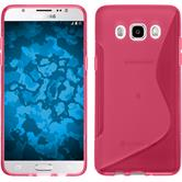 Silicone Case for Samsung Galaxy J5 (2016) S-Style hot pink