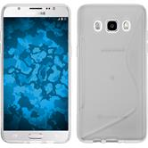 Silicone Case for Samsung Galaxy J5 (2016) S-Style transparent