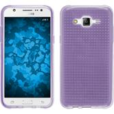 Silicone Case for Samsung Galaxy J5 (J500) Iced purple