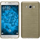 Silicone Case for Samsung Galaxy J7 (2016) J710 brushed gold