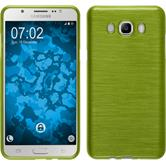 Silicone Case for Samsung Galaxy J7 (2016) J710 brushed pastel green