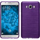 Silicone Case for Samsung Galaxy J7 (2016) J710 brushed purple
