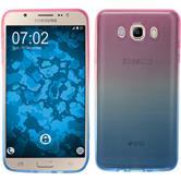Silicone Case Galaxy J7 (2016) J710 Ombrè Design:06 + protective foils