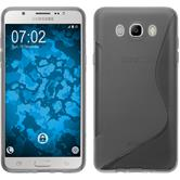 Silicone Case for Samsung Galaxy J7 (2016) J710 S-Style gray