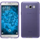 Silicone Case for Samsung Galaxy J7 (2016) J710 transparent purple