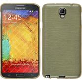 Silicone Case for Samsung Galaxy Note 3 Neo brushed gold