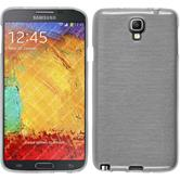 Silicone Case for Samsung Galaxy Note 3 Neo brushed white