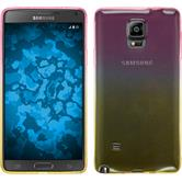 Silicone Case for Samsung Galaxy Note 4 Ombrè Design:01