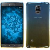 Silicone Case for Samsung Galaxy Note 4 Ombrè Design:02
