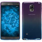Silicone Case for Samsung Galaxy Note 4 Ombrè Design:04