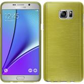 Silicone Case for Samsung Galaxy Note 5 brushed pastel green