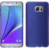 Silicone Case for Samsung Galaxy Note 5 transparent purple
