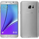 Silicone Case for Samsung Galaxy Note 5 transparent white