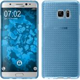 Silicone Case for Samsung Galaxy Note 7 Iced light blue
