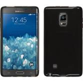 Silicone Case for Samsung Galaxy Note Edge transparent black