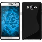 Silicone Case for Samsung Galaxy On7 S-Style black