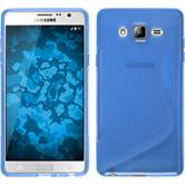 Silicone Case for Samsung Galaxy On7 S-Style blue