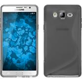 Silicone Case for Samsung Galaxy On7 S-Style gray