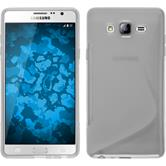 Silicone Case for Samsung Galaxy On7 S-Style transparent